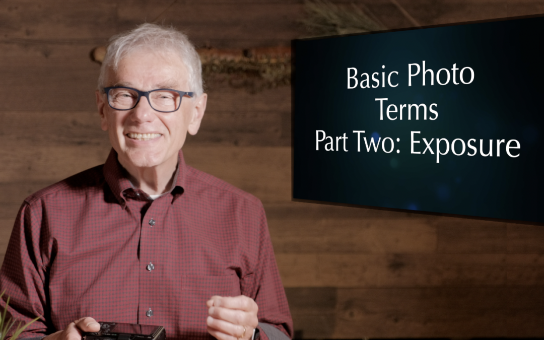 What language do photographers speak? Two: Exposure Setting Terms